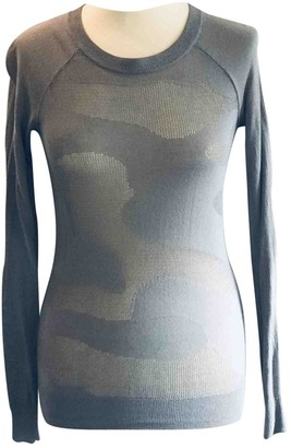 AllSaints Grey Cotton Knitwear for Women