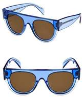 Celine 51mm Pilot Sunglasses