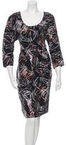 Megan Park Palm Pleat Dress w/ Tags