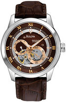 Bulova Mens Automatic Strap Watch