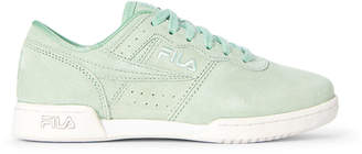 Fila Pastel Turquoise Original Fitness Suede Low-Top Sneakers
