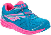 Saucony Girls' Ride 9 Leather-Trim Sneaker