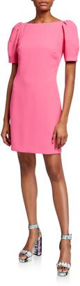 Trina Turk Bloom Classic Crepe Dress