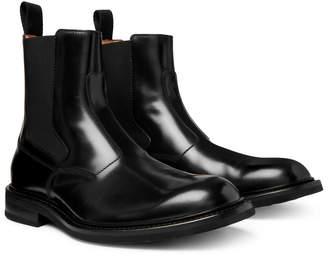Bottega Veneta Leather Chelsea Boots
