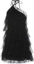 Alexis Raina Tiered Tulle Mini Dress