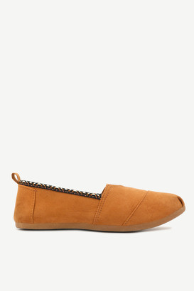Ardene Embroidered Slip-On Sneakers - Shoes |