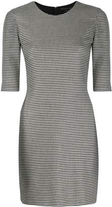Alice + Olivia Alice+Olivia houndstooth mini dress