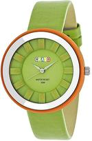 Crayo Celebration Collection CRACR3404 Unisex Watch with Leather Strap