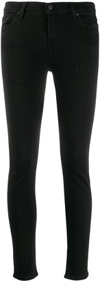 7 For All Mankind Slim Illusion Luxe embellished jeans