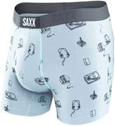 Saxx Vibe Men Underwear Boxer Briefs, No Fly, Modern Fit, 5 Inch Inseam