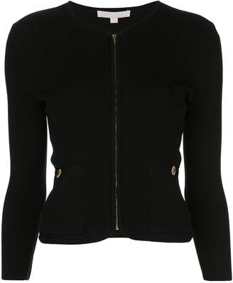 Jonathan Simkhai ribbed fitted cardigan