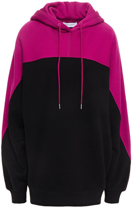 Ninety Percent Two-tone French Cotton-terry Hoodie
