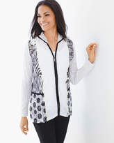Chico's Mixed-Print Jacket