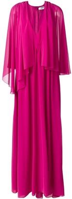 MSGM Layered Pleated Dress