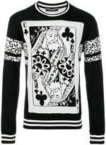 Dolce & Gabbana King of Clubs jumper