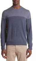 Canali Men's Colorblock Wool Sweater