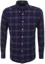 Barbour Seth Check Shirt Navy