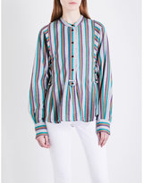 Etoile Isabel Marant Ophelie striped cotton shirt
