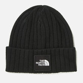 The North Face Tnf Logo Boxed Cuffed Beanie Tnf Black