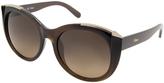 Chloé Brown Oversize Sunglasses