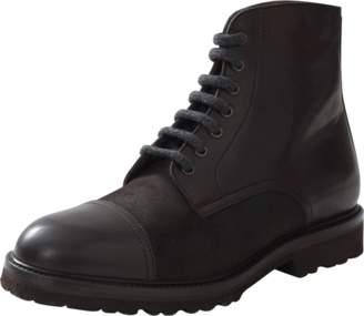 Brunello Cucinelli Leather Cap Toe Boot
