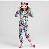 Tsum Tsum Disney Tsum Tsum Girls' Footed Sleeper - Black