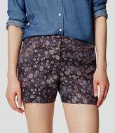 "LOFT Petite Botanic Riviera Shorts with 3 1/2"" Inseam"
