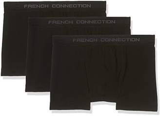 French Connection Men's Fc 3 Pack Boxer in F Box Shorts,(Pack of 3)
