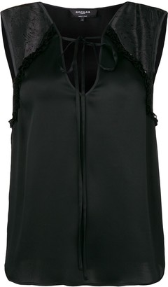 Rochas Lace Inserts Tank Top