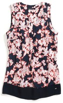 Tommy Hilfiger Final Sale- Printed Floral Tank