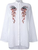 Giamba embroidered star shirt