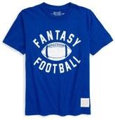 Original Retro Brand 'Fantasy Football' Graphic T-Shirt (Big Boys)