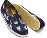 Toms Toms+ navy ikat men's classics