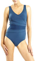 Jantzen Cross Front Mesh One Piece