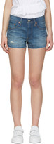 Levi's Levis Blue Denim 501 Shorts