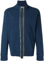 Maison Margiela multi-zip front sweatshirt