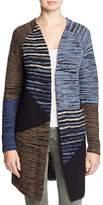 Nic+Zoe Layover Pattern Block Duster Cardigan