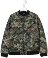 Ralph Lauren camouflage bomber jacket