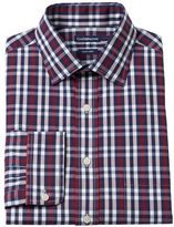 Croft & Barrow Men's Fitted Easy-Care Spread-Collar Dress Shirt
