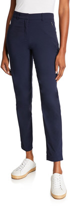 Anatomie Thea Ankle Pants with Zipper Side Pockets