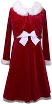 Bonnie Jean Long Sleeve Empire Waist Dress - Girls 7-16 and Plus