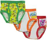 "Teenage Mutant Ninja Turtles TMNT Big Boys' ""Masked Turtle Time"" 3-Pack Briefs"