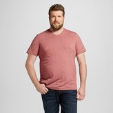 Mossimo Men's Big & Tall V-Neck T-Shirt Red