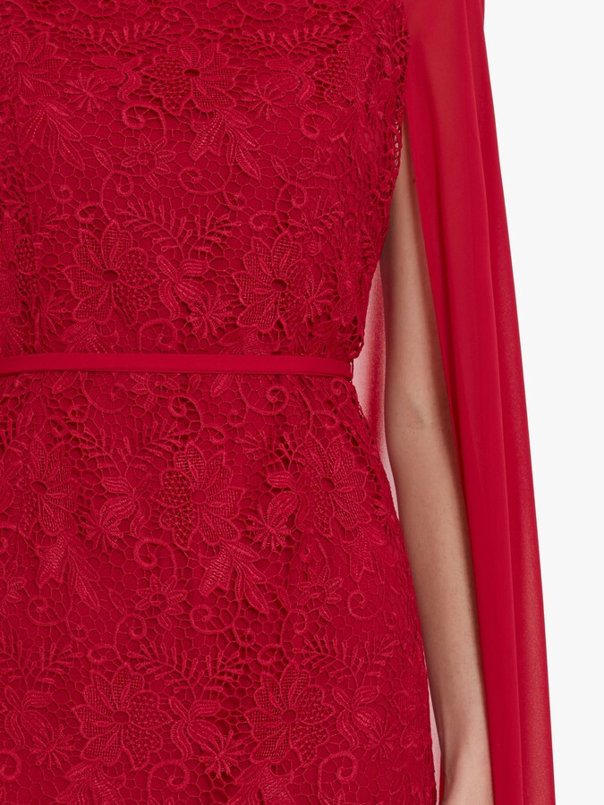 Thumbnail for your product : Gina Bacconi Sansa Dress with Cape