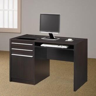 """Wildon Home Pembroke Computer Desk Size: 30.75"""" H x 47.25"""" W x 25.65"""" D"""