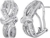 JCPenney FINE JEWELRY 1/10 CT. T.W. Diamond Vintage Earrings