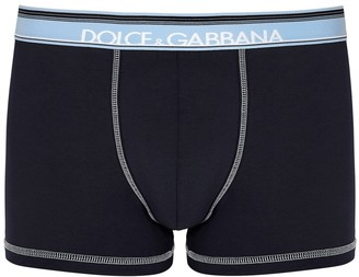 Dolce & Gabbana Navy stretch-cotton boxer briefs