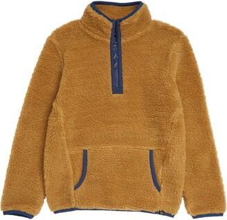 Treasure & Bond Kids' Cozy Fleece Half Zip Pullover