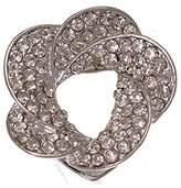 AJ Fashion Jewellery Alstromeria tone Crystal Scarf Clip