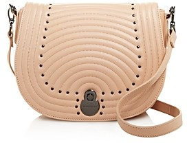 Longchamp Cavalcade Quilted Studded Leather Crossbody